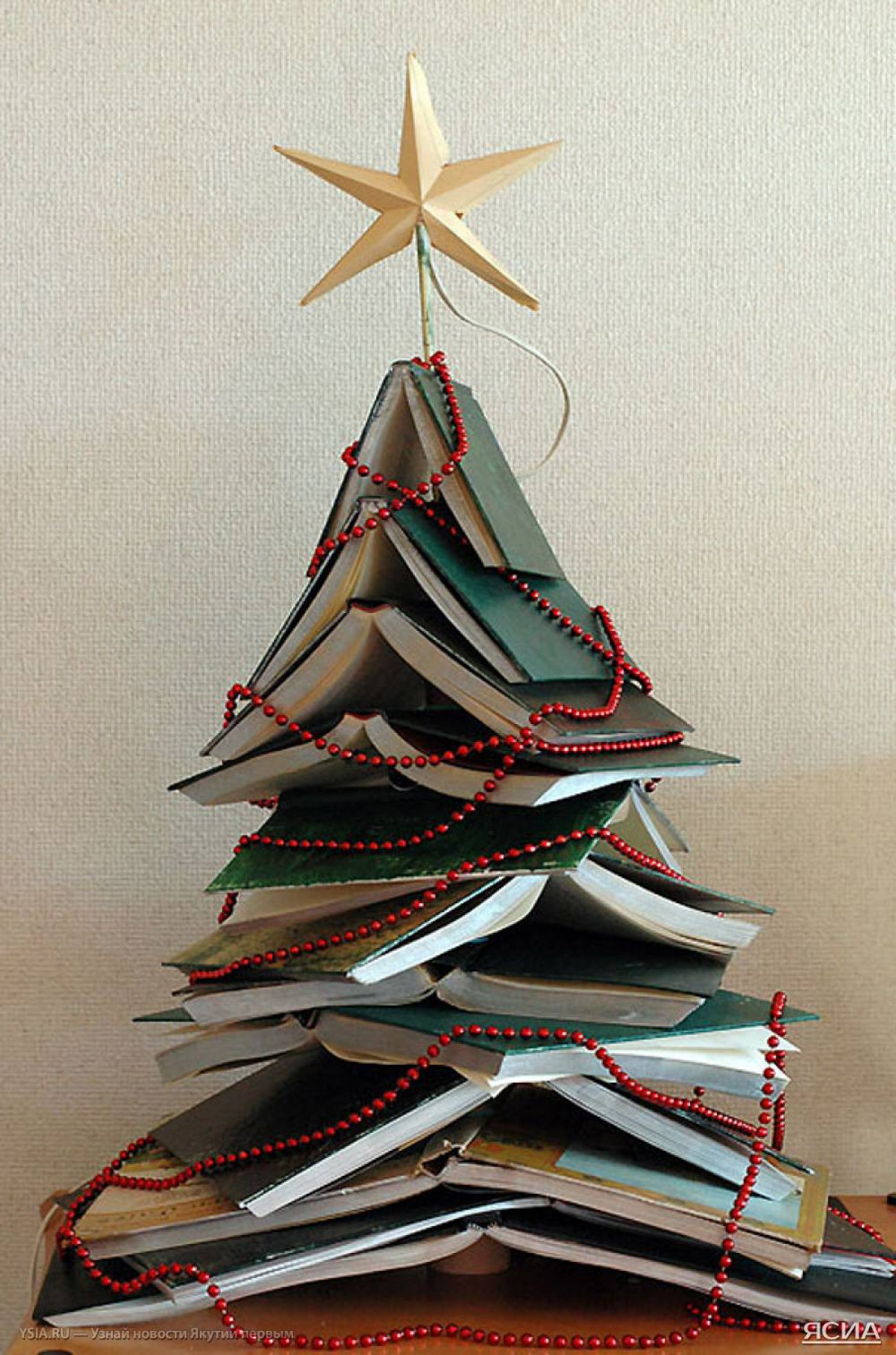 book-diy-christmas-tree
